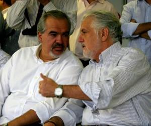 Bem na foto com o governador, Roberto Muniz pede à AGE que investigue denúncias de petista (crédito: Blog do Gusmão)